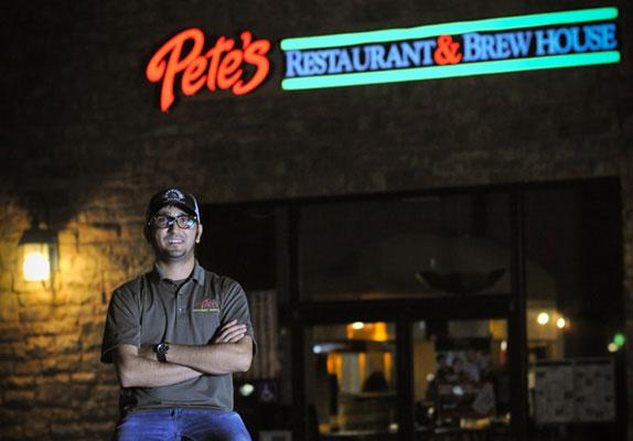 Pete's Restaurant & Brewhouse in El Dorado Hills