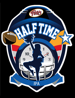 Pete's Half Time Beer - Pete's Restaurant & Brewhouse