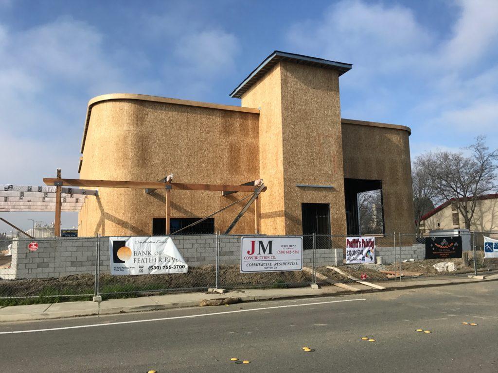 Yuba City Pete's Restaurant under construction