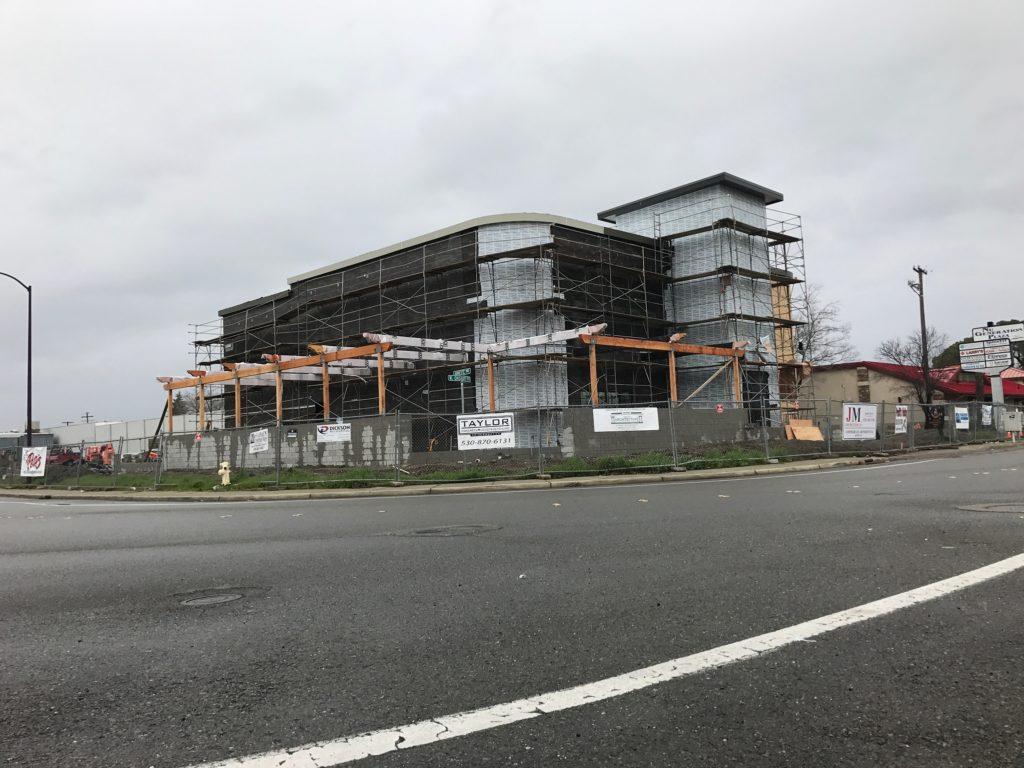 Pete's new Yuba City location under construction