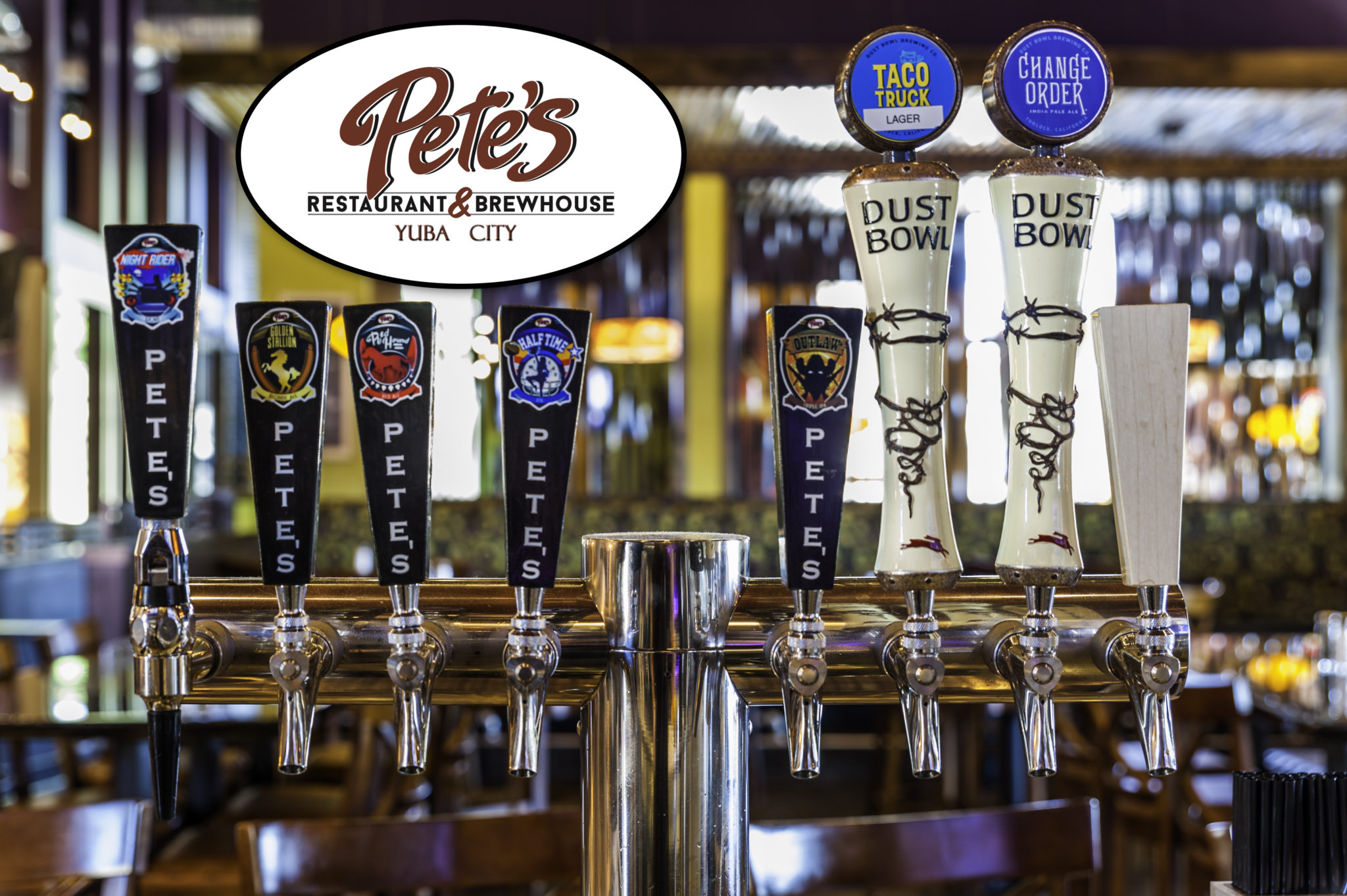 Find your next favorite beer at Yuba City Pete's!